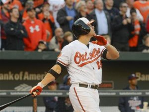 chris davis home run in opener