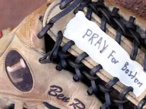 pray for boston glove