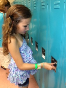 emily at locker