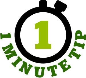 one minute tip