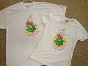 flowers for powers shirts