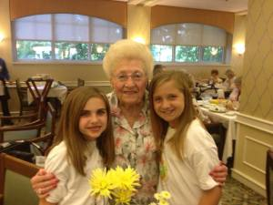 girls and granny
