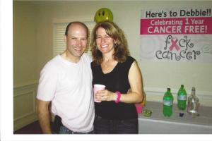 Debbie 1 year Cancer Free