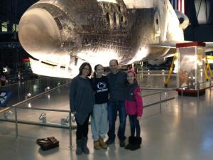 family and shuttle