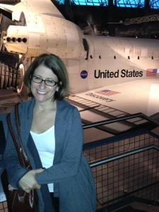 space shuttle discovery and debbie