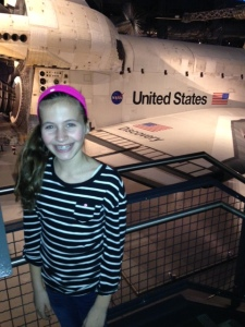 space shuttle discovery and emily