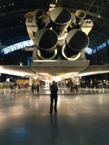 space shuttle discovery and me