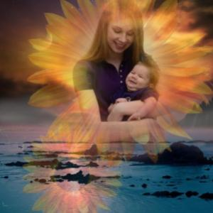 aiden and mommy flower