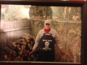 craig at the grill