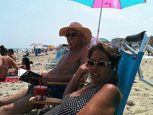 craig on the beach