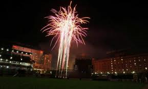 fireworks at camden yards