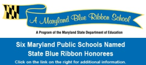 maryland blue ribbon school banner