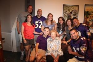sylvia and her grandchildren