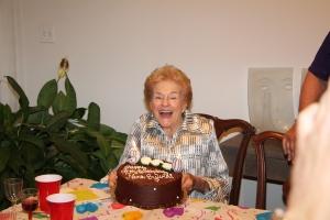 sylvia birthday cake
