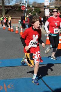 kid runs in shuffle