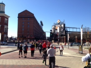 race at camden yards